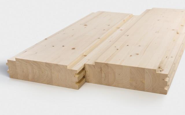 brettstapelsystemdecke. Black Bedroom Furniture Sets. Home Design Ideas